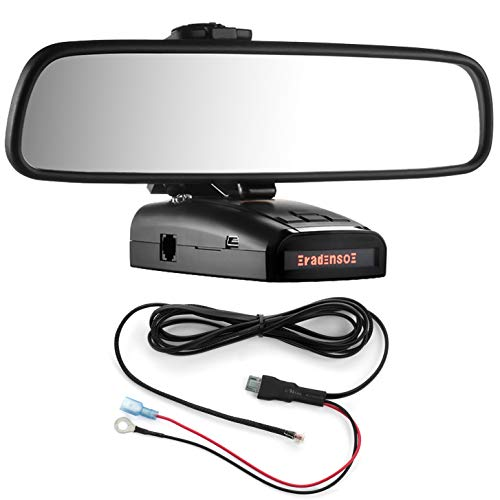 Review Radar Mount Mirror Mount Bracket + Direct Wire Power Cord for Radenso XP SP (3001210R)