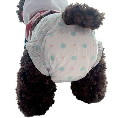 tianxiangjjeu 10 Stks Vrouwelijke Hond Luier Wegwerp Sanitaire Broek Ondergoed luier