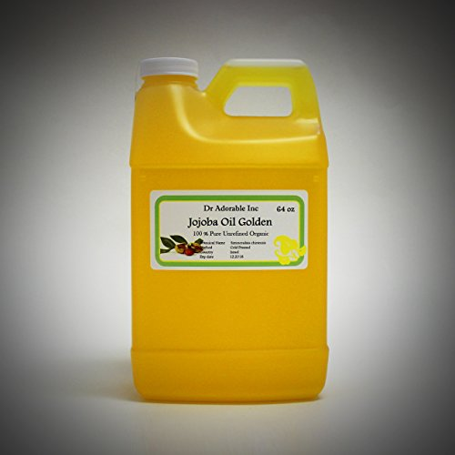 JOJOBA OIL Golden Pure & Organic You Pick Size (64 oz/2 Quarts)