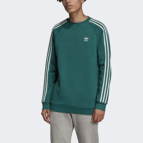 adidas Originals App - Sudaderas Deportivas para Hombre, Color Verde Noble/Verde Vapor, Talla pequeña