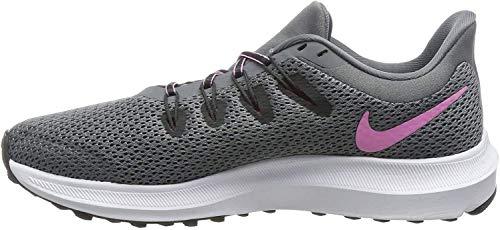 Nike Women's, Quest 2 Running Shoe Grey Pink 7.5 M