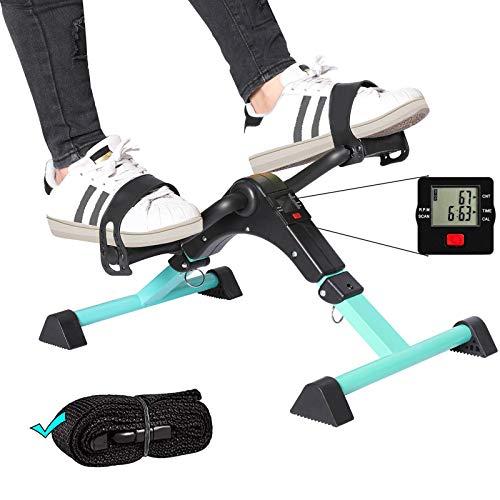 ZIRANYU Pedal Exerciser, Under Desk Bike Pedal Exerciser, Desk Pedal Exerciser Elliptical Machines for Home Use ZP01