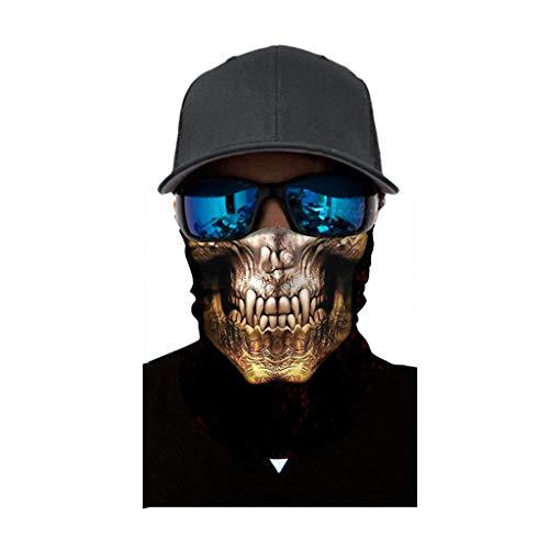 Juliyues Damen und Herren Multifunktionstuch, Lustig Animalprint Schlauchtuch Halstuch Outdoor Gesichtsmaske Atmungsaktiv Staubschutz Mund-Tuch Schlauchschal Face Shield Motorradmaske
