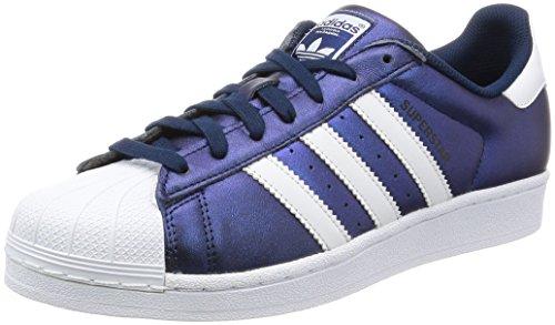 Adidas Superstar Schuhe (S75875), Blau Weiß, 40 2/3 EU