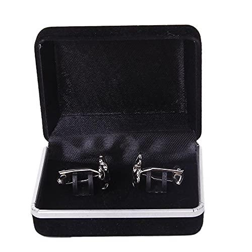 Caja de almacenamiento portátil de terciopelo doble ranura corsé caja de campana anillo de oreja pulsera caja de exhibición de joyería caja de almacenamiento Joyería-Estados Unidos