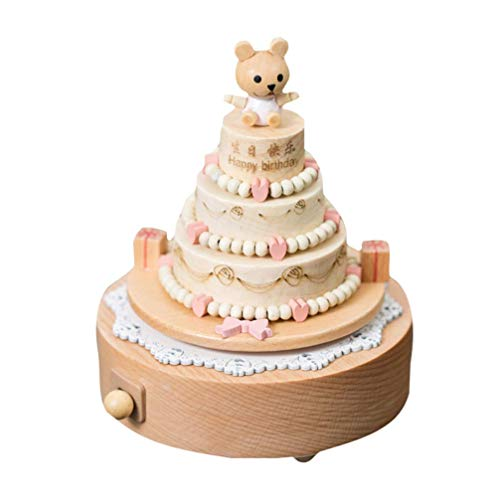 YUQIYU. 1pc Music Box creativo bello unico Chic decorazione domestica tavolino della decorazione del regalo di compleanno for bambini ragazze dei capretti