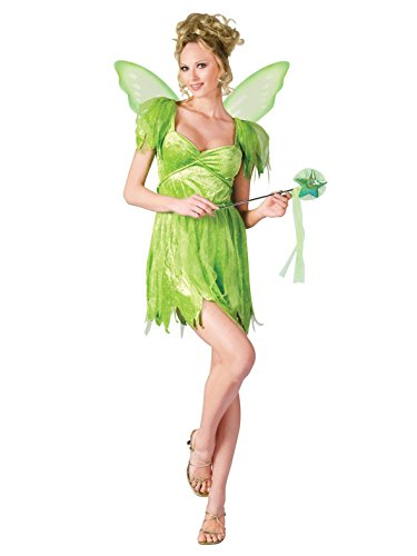 Fun World Women's Med/lg Adlt Neverland Fairy, Multi, Medium/Large
