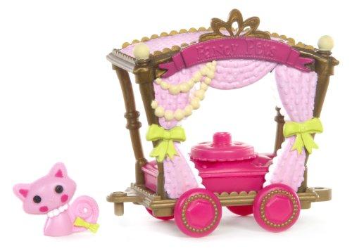 Mini Lalaloopsy � Silly Pet Parade � Tea Time Wagon � Wagon Carouse et Chat (Import Royaume Uni)