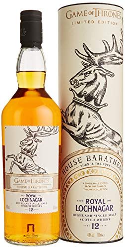 Royal Lochnagar 12 Jahre Single Malt Scotch Whisky - Haus Baratheon Game of Thrones Limitierte Edition  (1 x 0.7 l)