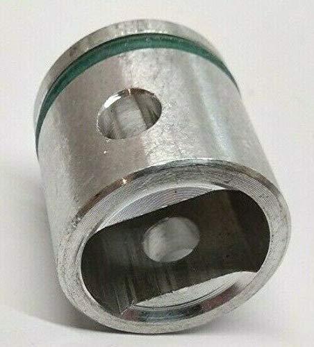 Pistón de metal con junta/junta tórica para Makita HM0810 HM0810B HM0810T