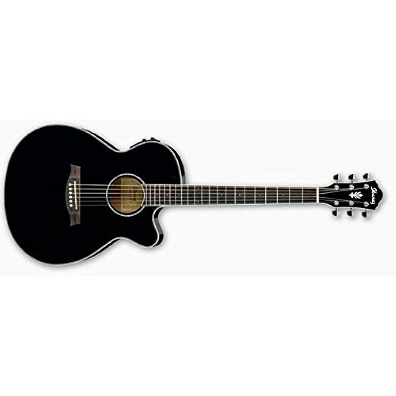 あごひげ悲惨な憂鬱なIbanez アイバニーズ AEG10II - Black アコースティックギター アコギ ギター (並行輸入)