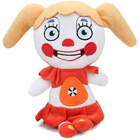 10 '' FNAF Plushies, Plush Figure Toys, Plush Toy - Stuffed Toys Dolls - Kids Gifts - Gifts for Five Night Freddys Fans, FNAF Nightmare Foxy Plush, FNAF Sister Location Plush Baby Circus Plush