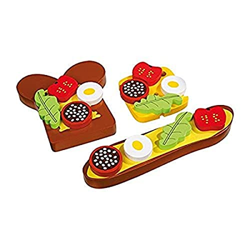 small foot design - 1147 - Jeu D'imitation - Cuisine - Snacks Aimantés