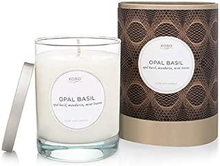 Kobo Opal Basil Candle