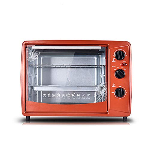 30L Electric Bakery Oven Multifunction Pizza Doughnut Cake Biscuits Baking Machine BBQ Grill Heater Timer Bread Toaster EU