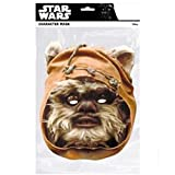 Generique - Maschera in Cartone Ewok Star WarsMaschera in Cartone Ewok Star Wars Taglia Unica