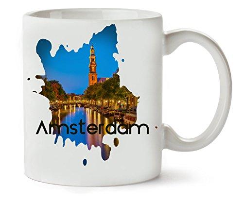 C+P Crazy Amsterdam Series Theme Viva Klassieke theekopje koffiemok