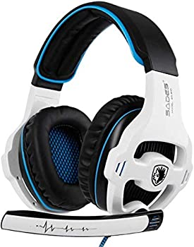 Sades Xbox One Over Ear Gaming Headset with Mic