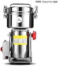 800G / 1000G / 2500G Molinillo de café eléctrico de acero inoxidable 220 V Granos Especias A base de hierbas Cereales Molino Trituradora de harina de polvo en el hogar,1000G
