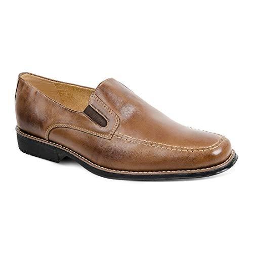 Sapato Social Masculino Derby Sandro Moscoloni Juarez (45, Marrom Escuro)