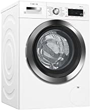 Bosch WAW285H2UC 800 Series 24 Inch Smart Front Load Washer with 2.2 cu. ft. Capacity, in White