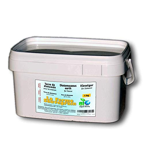 La Ferme Sauvegrain Terre de diatomée Alimentaire pour Les Poules - Anti-poux Naturel Contre Les poux Rouges - 1kg