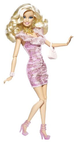 Mattel - v4380 - barbie - poupee - barbie fashionistas glam mix et styles