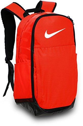 Nike Brasilia Training Backpack (Max Orange/Black/White)