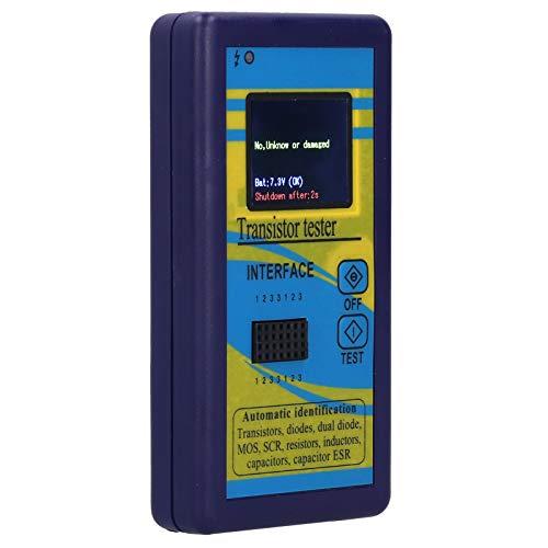 측정 동작에 의해 안정된 내구성이 있는 소형 트랜지스터 트랜지스터 트랜지스터 트랜지스터 테스터 디스플레이