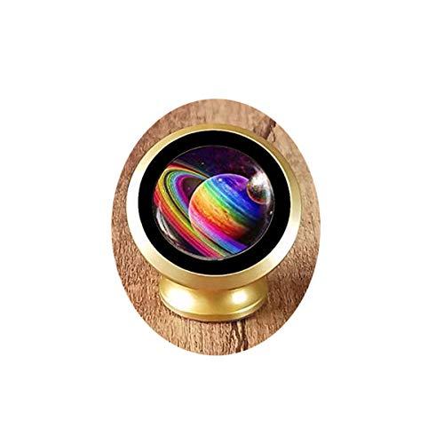 bab Rainbow Planet Schlüsselanhänger, LGBTQ Gay Pride Schlüsselanhänger, Regenbogen-Kunstschmuck, Pride Rainbow Gay Pride Flagge, Art Schlüsselanhänger, magnetische KFZ-Halterung
