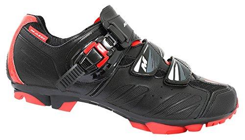 Massi Akkron Red Zapatillas, Hombre, Negro/Rojo, 45