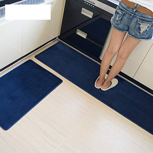 MMHJS European-Style Household Kitchen Floor Mats Waterproof And Oil-Proof Long Non-Slip Carpet Suitable For Restaurant Kitchen Bathroom Hallway Carpet