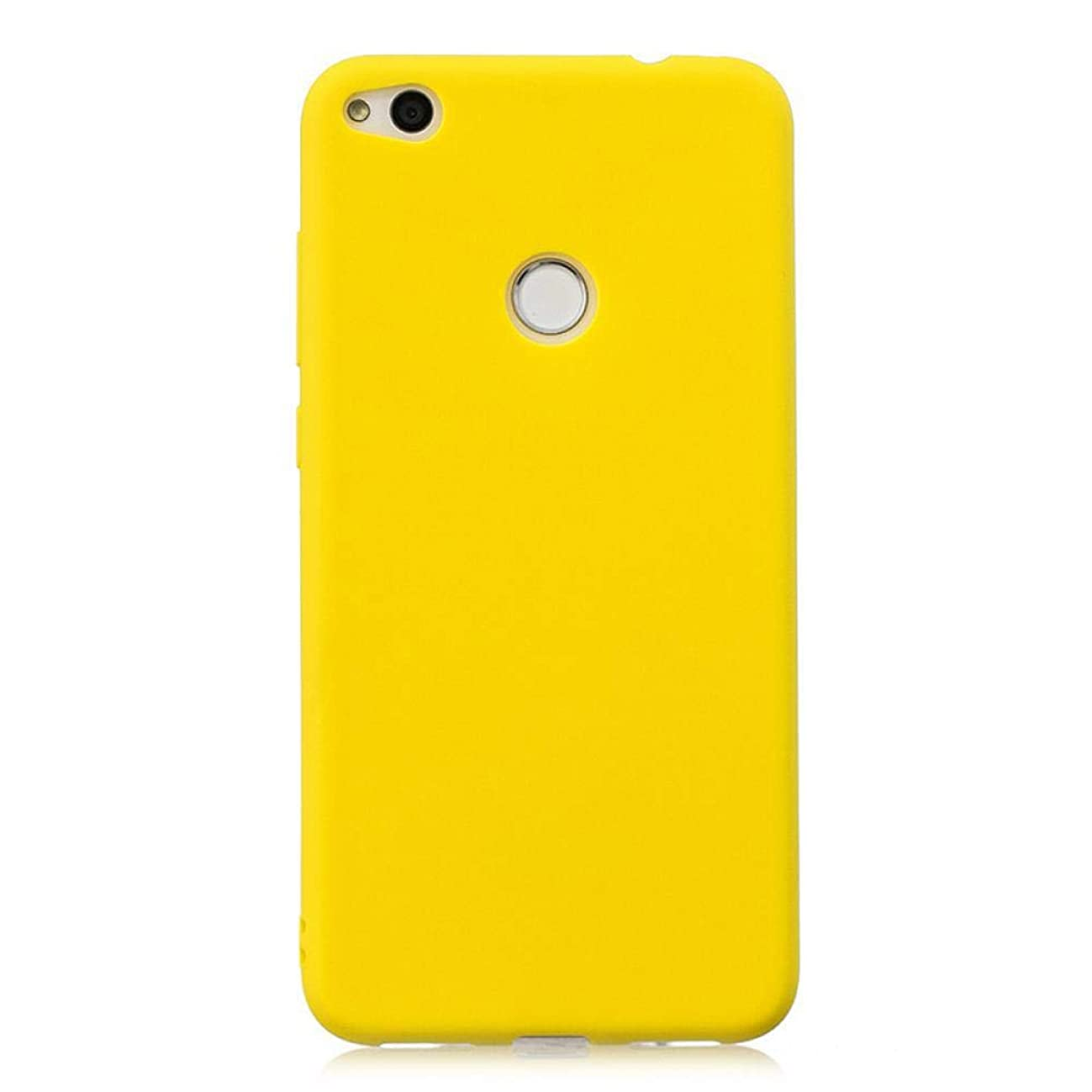 Clauheq Case for Huawei P8 P9 P10 P20 Pro P9Lite GR3 2017 Honor 9 Lite Mate 10 P Smart Y9 2018 Soft Silicon Cell Phone Back Cover Yellow P20 Lite