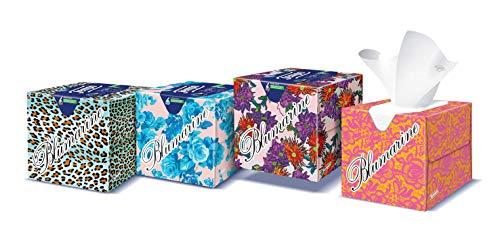 Tempo Light Taschentücher 3 Veli – Packung mit 12 Quadraten à 60 Taschentücher (3 gemischte Grafiken)