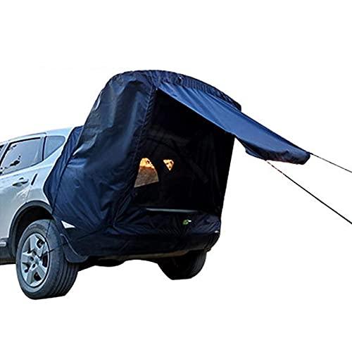 JTYX Carpa para Maletero de automóvil Carpa de Puerta Trasera para automóvil - Carpa de extensión de Cola de automóvil Universal para Acampar Coche Familiar Contando para toldo de Coche de Camping