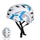 Automoness Skaterhelm, Radhelm Kinderhelm Sporthelm Bike Helmet Fahrradhelm CE-Zertifizierung, 6 Größen für Erwachsene, Jugendliche, Kinder, geschützt für Fahrrad, Rollschuh,...