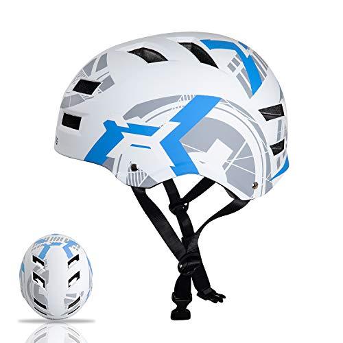 Automoness kinderhelm,Skaterhelm,Kinder-Jugendhelme,Radhelm Kinderhelm Sporthelm CE-Zertifizierung,geschützt für Fahrrad, Rollschuh, Skateboard und Anderen Extreme Sports