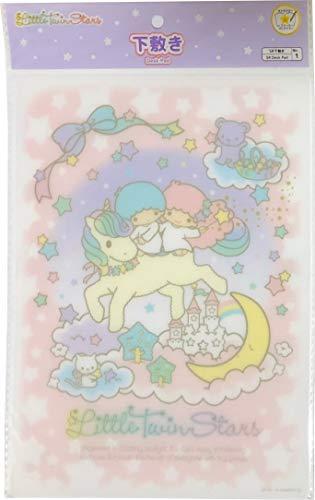 Sanrio Little Twin Stars Writing Pencil Board Shitajiki Desk pad Polypropylene sheets B5 Size Notebook Stationery