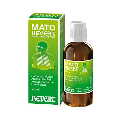 Mato Hevert Erkältungstropfen, 100 ml Lösung