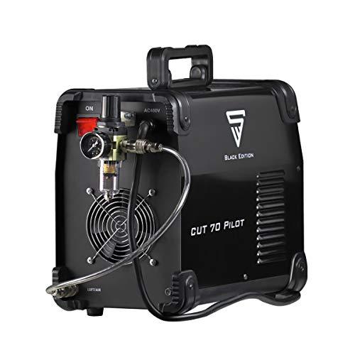 STAHLWERK CUT 70 P IGBT Plasmaschneider mit 70 Ampere, Pilot-Zündung, bis 25 mm Schneidleistung, für Flugrost geeignet, weiß, 7 Jahre Garantie - 2