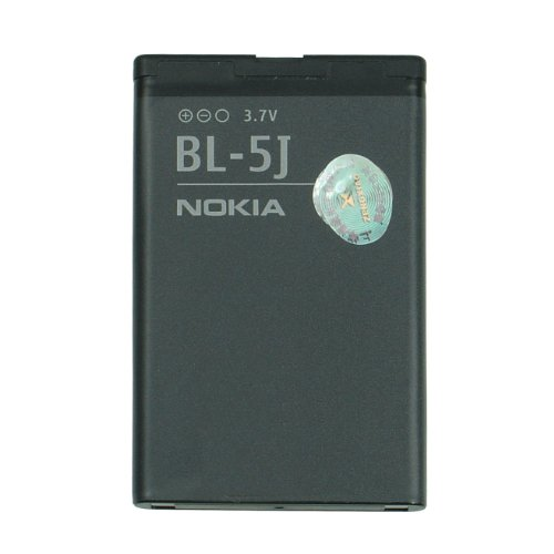 Nokia BL-5J–Batteria agli ioni di Litio 1320mAh 5228, 5230, 5235, 5800, C3, N900, X1, X6, Asha 200, 201, 302, Lumia 520, 530(BL-5J)