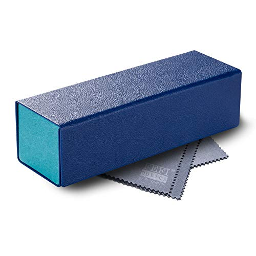 FEFI - Faltbares Hardcase Brillenetui CUBE (blau)