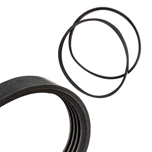 Band Saw Drive Belts Set Fits - Sears Craftsman 351.224010 - High Strength Rubber Belts - Replacement Drive Belt - Made in the USA! - Motor Ribbed Drive Belt