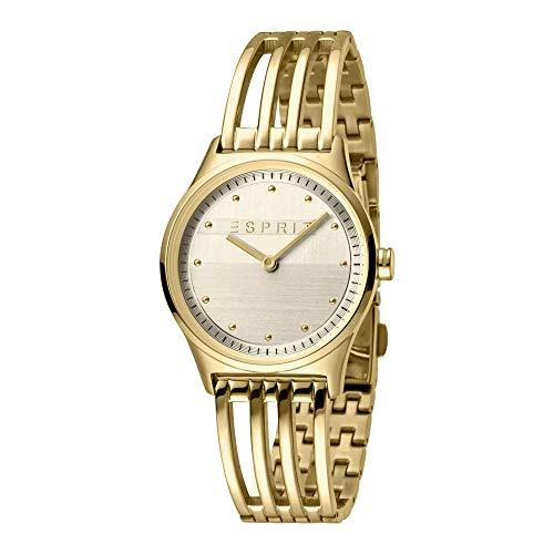 Esprit ES1L031M0035 Unity Uhr Damenuhr Edelstahl vergoldet 3 bar Analog Gold