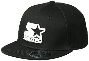 Starter Boys  Snapback Flat Brim Cap Amazon Exclusive Black One Size
