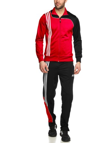 adidas Herren Trainingsanzug Sereno 11, Univerred/Black, 8, V38052