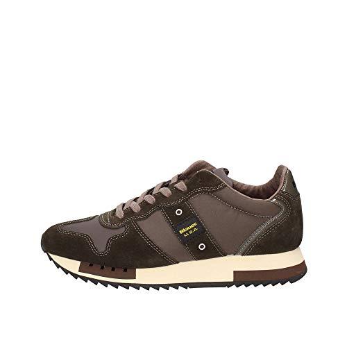 Blauer 9FQUEENS01/TAS Sneakers Uomo Marrone 44