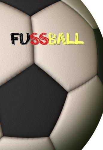 Mini-Notizbuch - Fussball / Fußball: ca. A6 - liniert