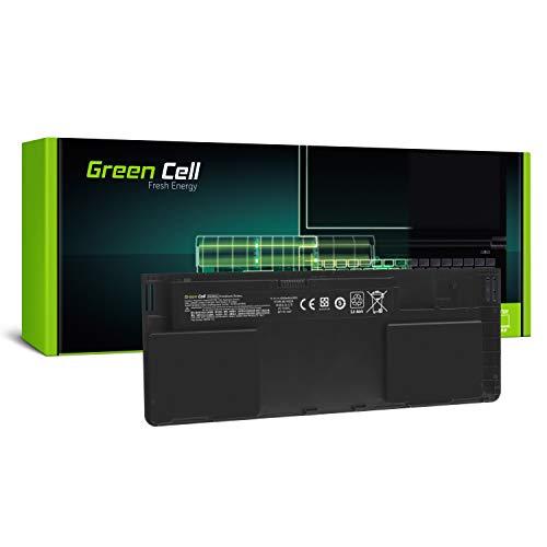 Green Cell® OD06XL 698750-171 698750-1C1 698943-001 HSTNN-IB4F HSTNN-W91C Laptop Akku für HP EliteBook Revolve 810 G1 G2 G3 (Li-Polymer Zellen 3400mAh 11.1V)