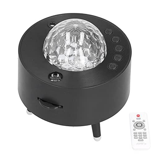 Proyector De Estrella, Proyector De Estrella LED Proyectado De Forma Independiente O Mixto Interruptor Manual con Función De Temporizador Altavoz...